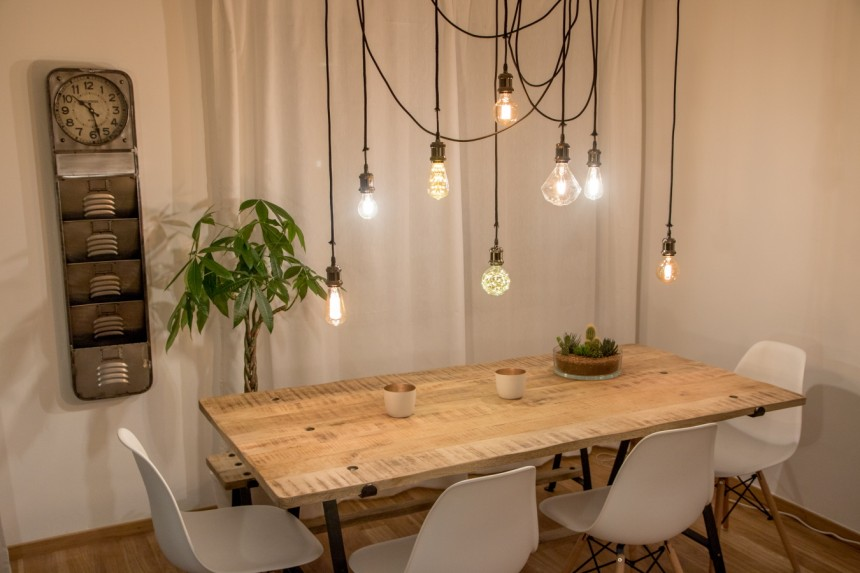 8 Diy Vier Lampen Zum Selbstbauen Stil Suddeutsche De