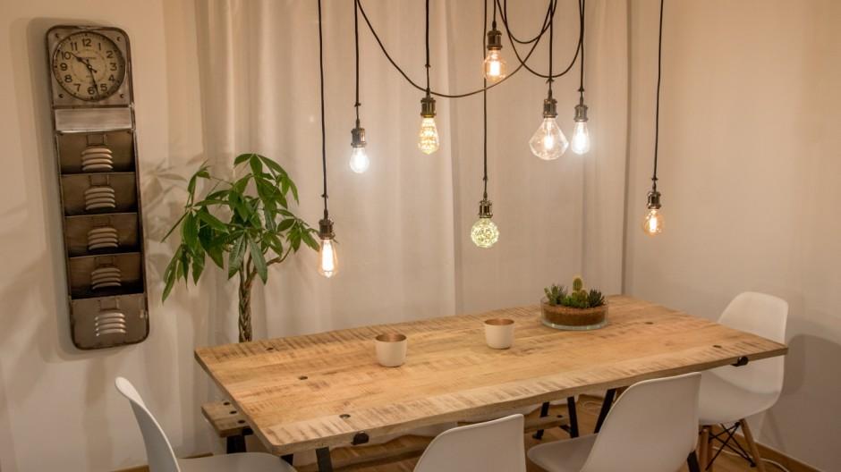 DIY Vier Lampen Zum Selbstbauen