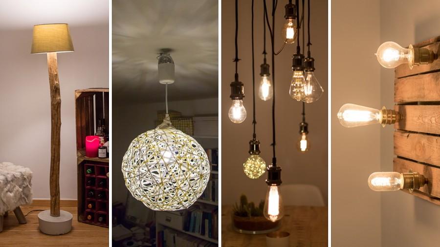 Diy Vier Lampen Zum Selbstbauen Stil Szde