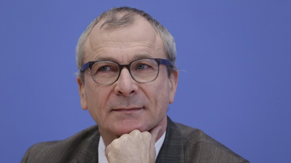 Volker Beck Sprecher für Integrationspolitik Deutschland Berlin Bundespressekonferenz Thema G