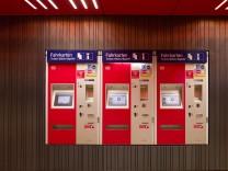 MVV Tarifreform Fahrkartenautomat