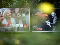 Wahlplakat mit Lindner und Kraft
