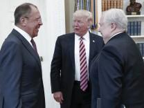 Trump trifft Lawrow