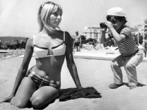 May 10 1966 Cannes France Three year old GILOU PELLETIER is already a star in his own right W