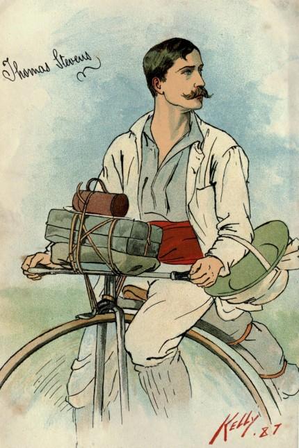 Reisepioniere Reise-Pionier Thomas Stevens
