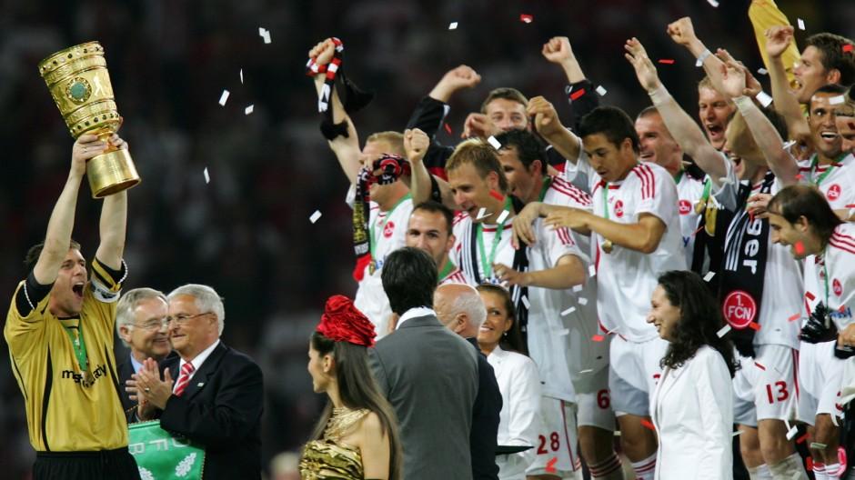 DFB Cup Final VfB Stuttgart v 1.FC Nuremberg
