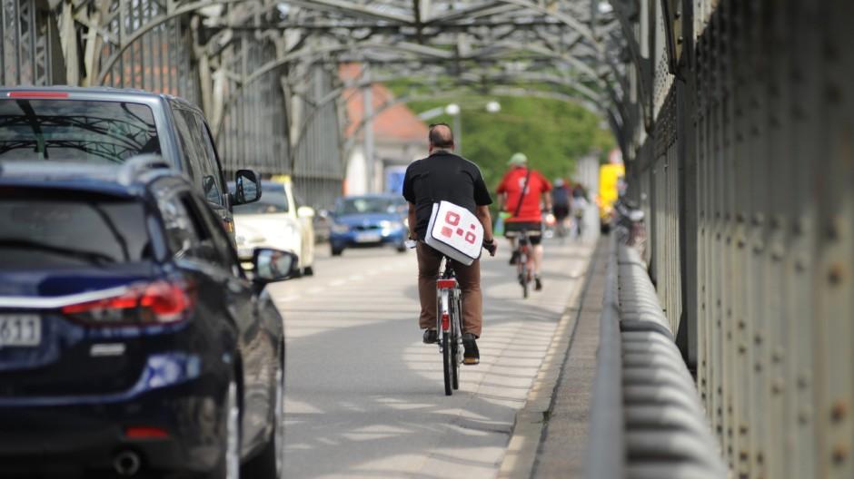 Radfahren in München Verkehr