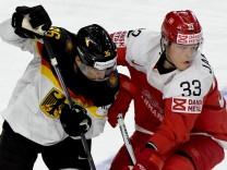Eishockey-WM: Dänemark - Deutschland