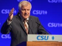 CSU-Parteitag mit Listenaufstellung