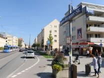 Agnes-Bernauer-Straße in München, 2011
