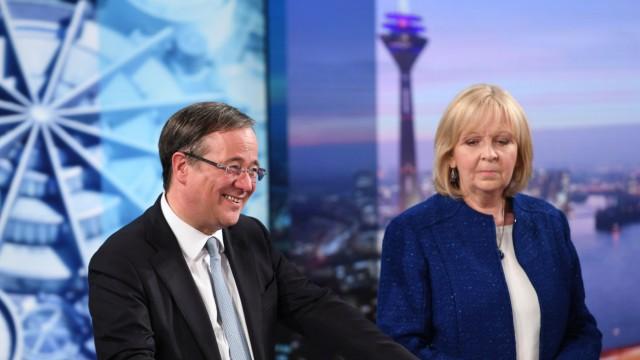 Landtagswahl in Nordrhein-Westfalen - Wahlstudio