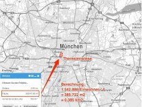 München gequetscht