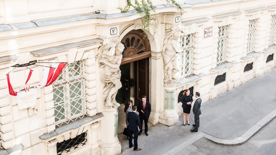 Wiener Börse (PR Material, siehe Beschreibung)