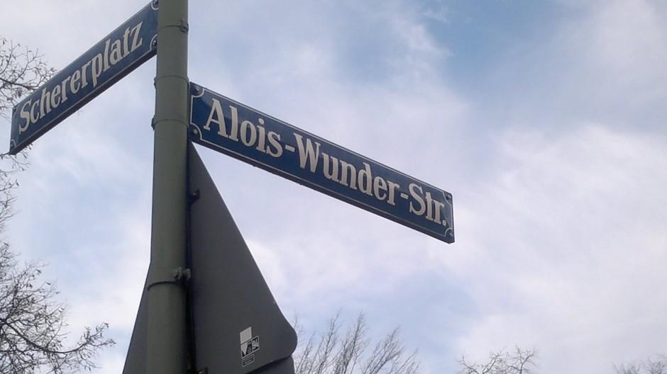 Alois-Wunder-Straße Pasing