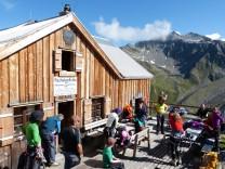 Rauhekopfhütte im Kaunertal