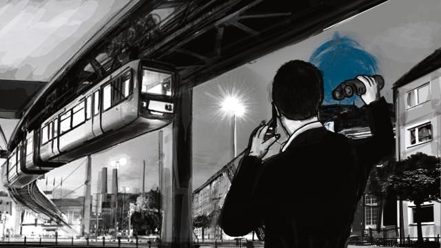 Schweizer Spion, Seite DreiIllustration: Stefan Dimitrov