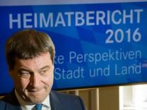 Söder stellt Heimatberichtes 2016 vor