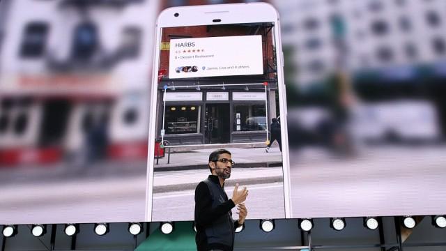 Google CEO Sundar Pichai Opens I/O Developer Conference