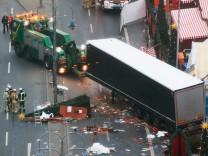 Der Berliner Breitscheidplatz nach dem Anschlag