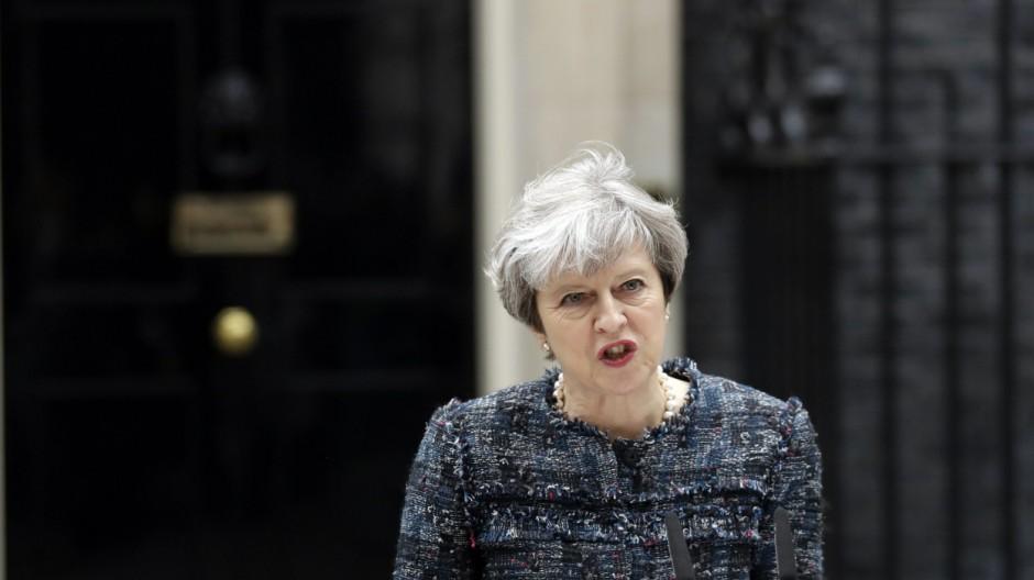 Theresa May Premierministerin Theresa May