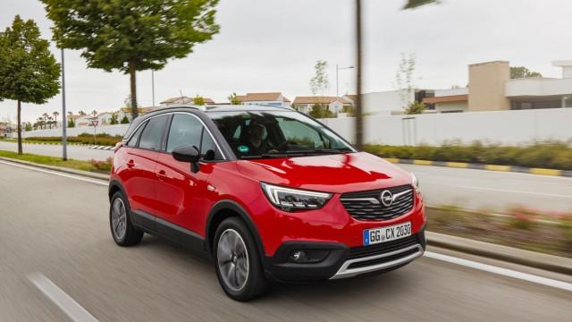 Crossover Im Fahrbericht Im Crossland X Steckt Zu Wenig Opel