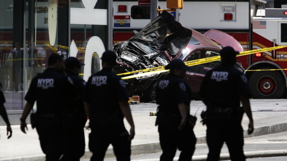 Unfall am Times Square