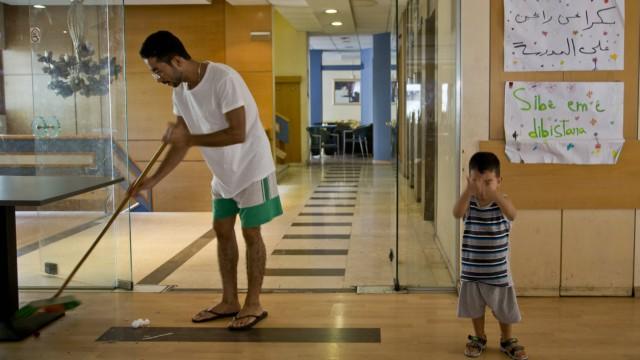 211719 Patrick Bar Starface 2016 09 19 Athenes Grèce Reportage sur la vie de migrants vivant au Ci