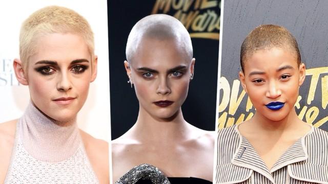 Buzz Cut Frisuren-Trend