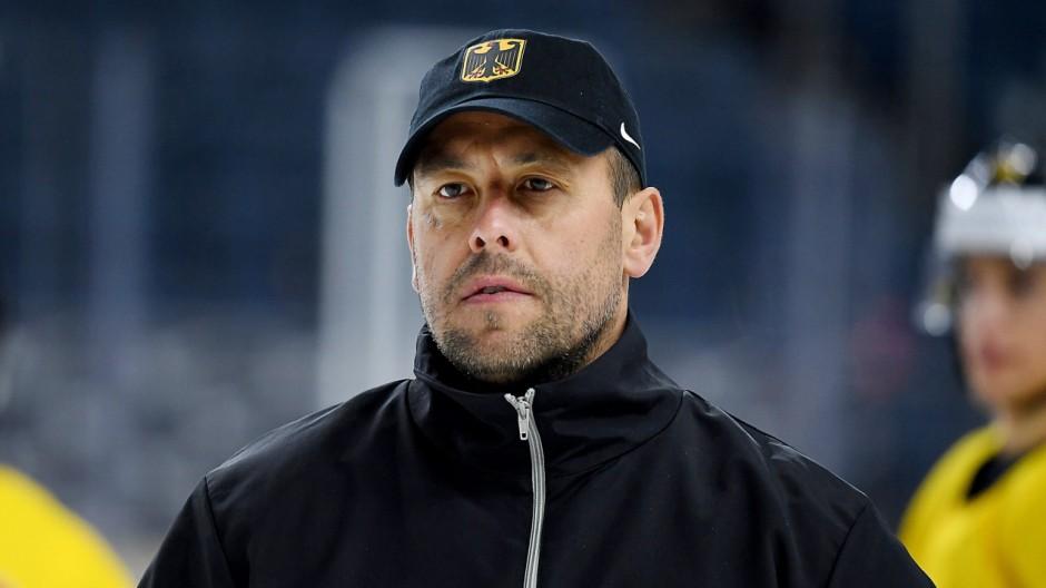 Eishockey-WM: Training Deutschland