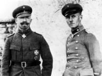 Erwin Rommel und Major Sprösser, 1918