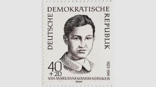 Soja Anatoljevna Kosmodemjanskaja eine russische Partisanin 1941 von den Nationalsozialisten getËÜt