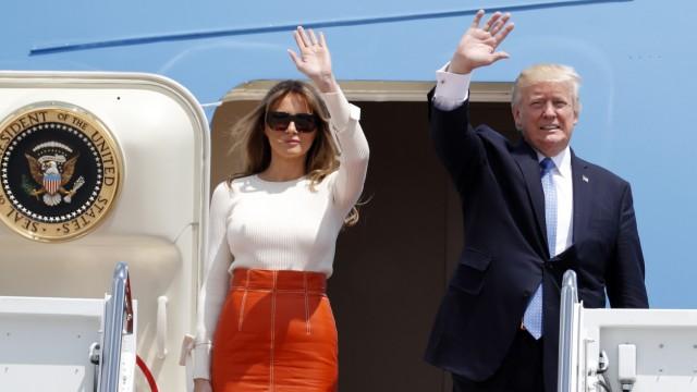 Erste Auslandsreise von Präsident Trump