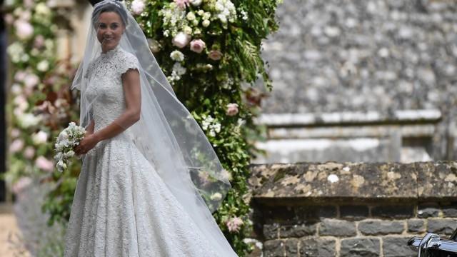 Brautkleid von Pippa Middleton in der Stilkritik - Stil - Süddeutsche.de