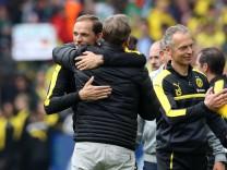 xuhjbx Dortmund Signal Iduna Park 20 05 17 1 Bundesliga 34 Spieltag Borussia Dortmund SV; Borussia Dortmund Thomas Tuchel Watzke