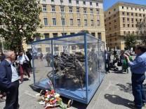 Foto IPP Felice De Martino Napoli 11 05 2017 in occasione del 25esimo anniversario della strage di C