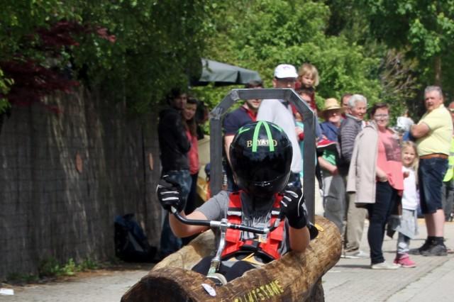 Seifenkistlrennen in Unterbrunn; Seifenkistenrennen in Unterbrunn