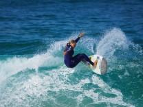 Rosina Neuerer (Aying) Surfen Wellenreiten WM 2016 Azoren