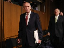 Intelligence Chiefs Testify At Senate Intelligence Hearing On World Wide Threats
