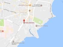 Screenshot Google Maps // Gymnasium Tutzing