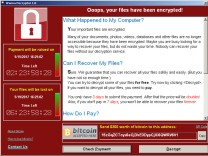 FILE PHOTO: A WannaCry ransomware demand, provided by cyber security firm Symantec