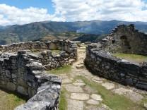 Ruinenstadt Kuélap im Norden von Peru