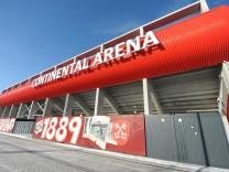 Continental Arena in Regensburg, 2017