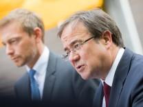 Koalitionsverhandlungen CDU und FDP in NRW