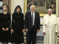 US-Präsident Trump im Vatikan