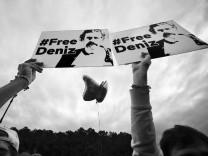 Kundgebung für Deniz Yücel