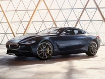 Die Konzeptstudie des neuen BMW 8ers.