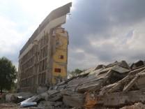 Zweite Sprengung Krankenhaus misslungen