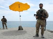 Sicily Prepares For G7 Summit