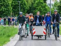 Einweihung Radweg