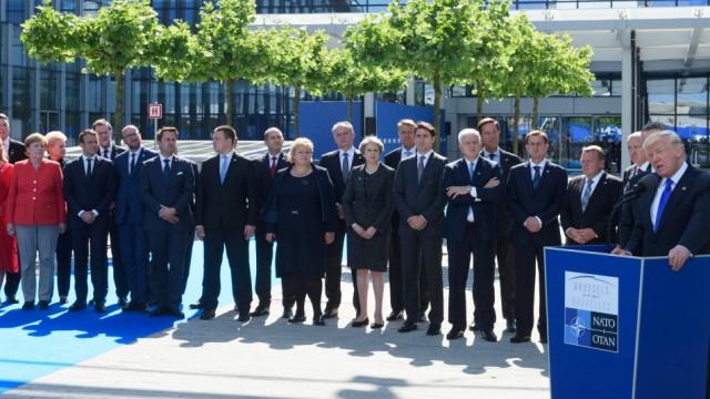 Donald Trump Nato-Treffen